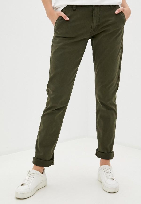 женские повседневные брюки q/s designed by, хаки