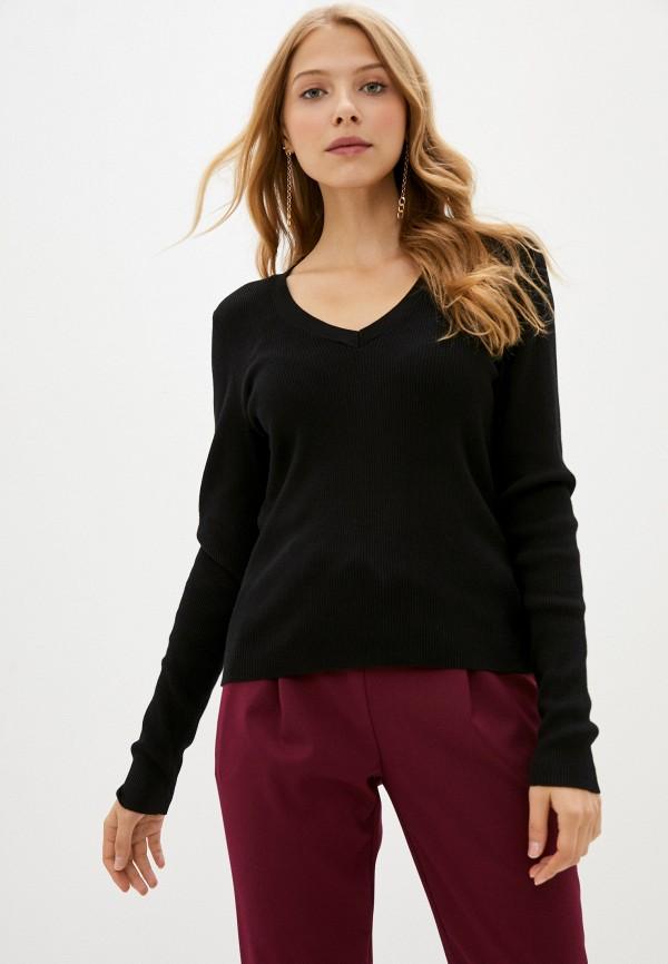 женский пуловер q/s designed by, черный