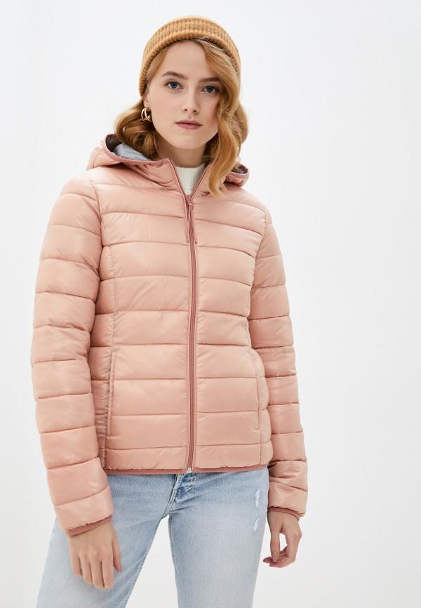 женская куртка q/s designed by, розовая