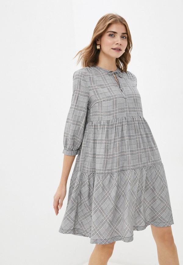 женское повседневные платье q/s designed by, серое