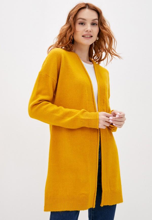 женский кардиган q/s designed by, желтый