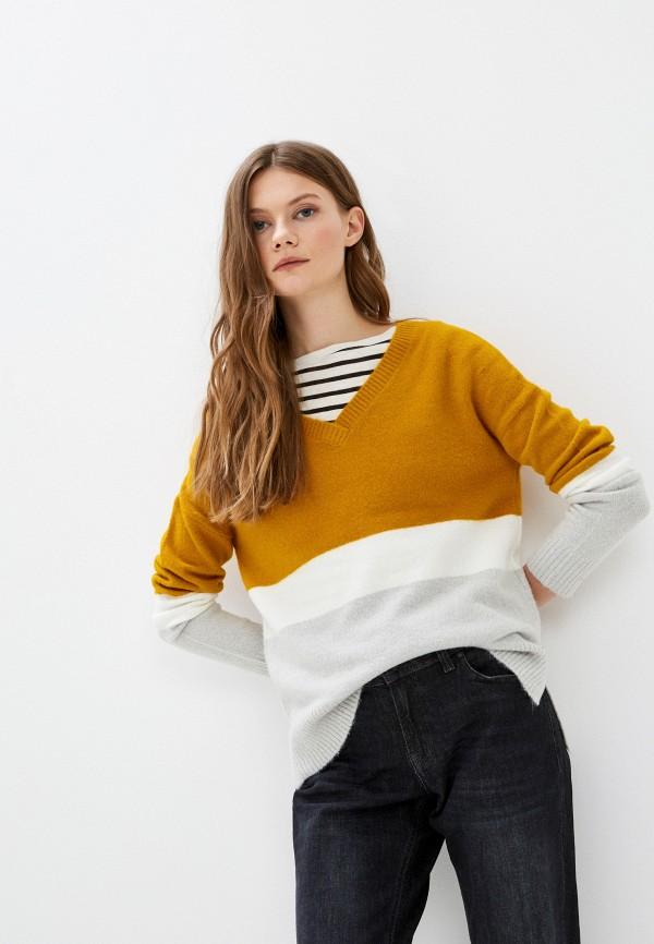 женский пуловер q/s designed by, желтый