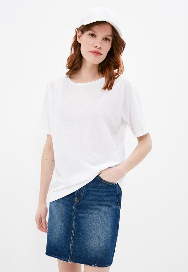 женская футболка q/s designed by, белая