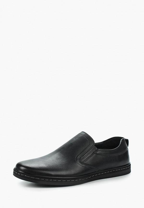 мужские слипоны quattrocomforto, черные