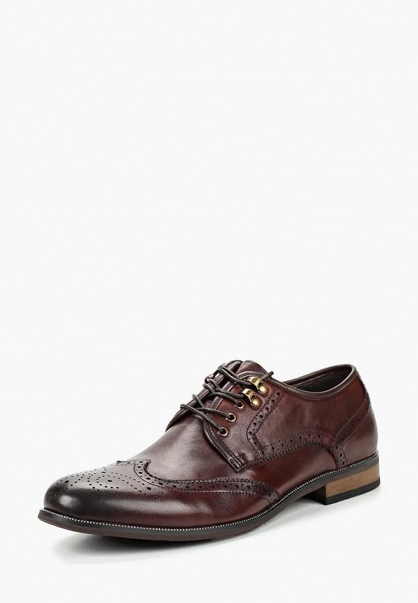 мужские туфли quattrocomforto, коричневые