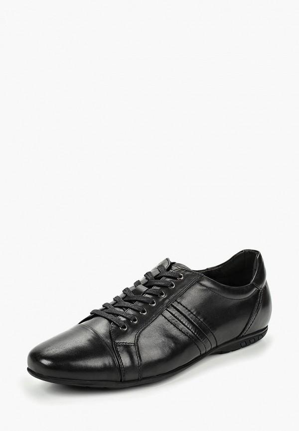 Фото 2 - мужские ботинки и полуботинки Quattrocomforto черного цвета