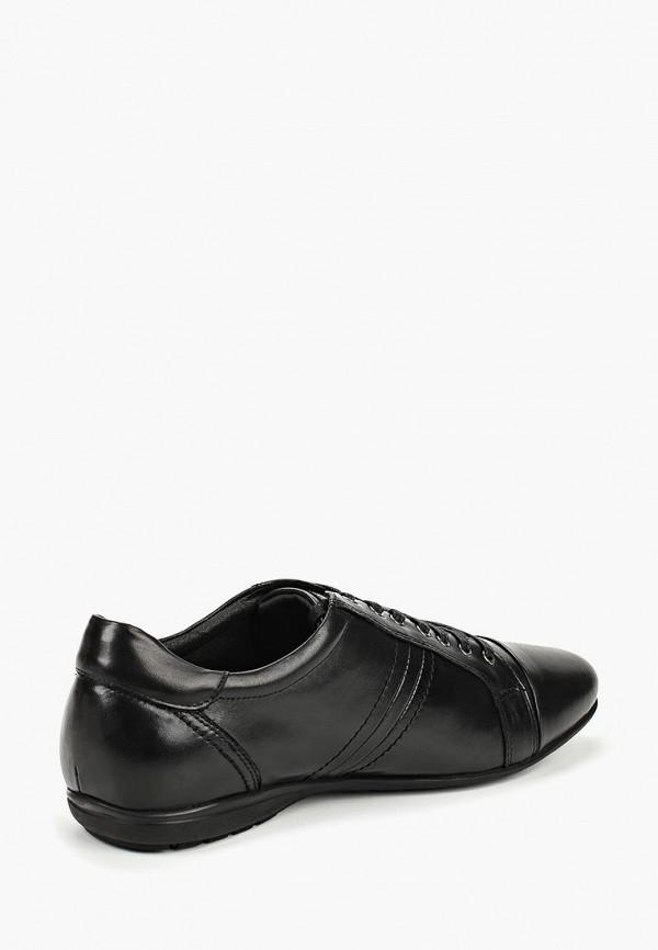 Фото 3 - мужские ботинки и полуботинки Quattrocomforto черного цвета