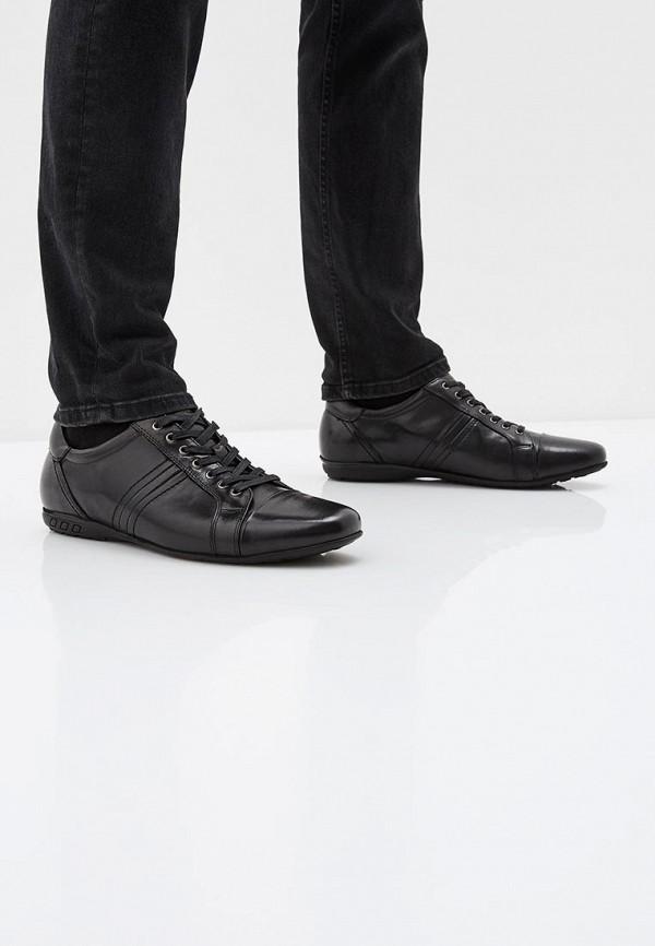 Фото 6 - мужские ботинки и полуботинки Quattrocomforto черного цвета
