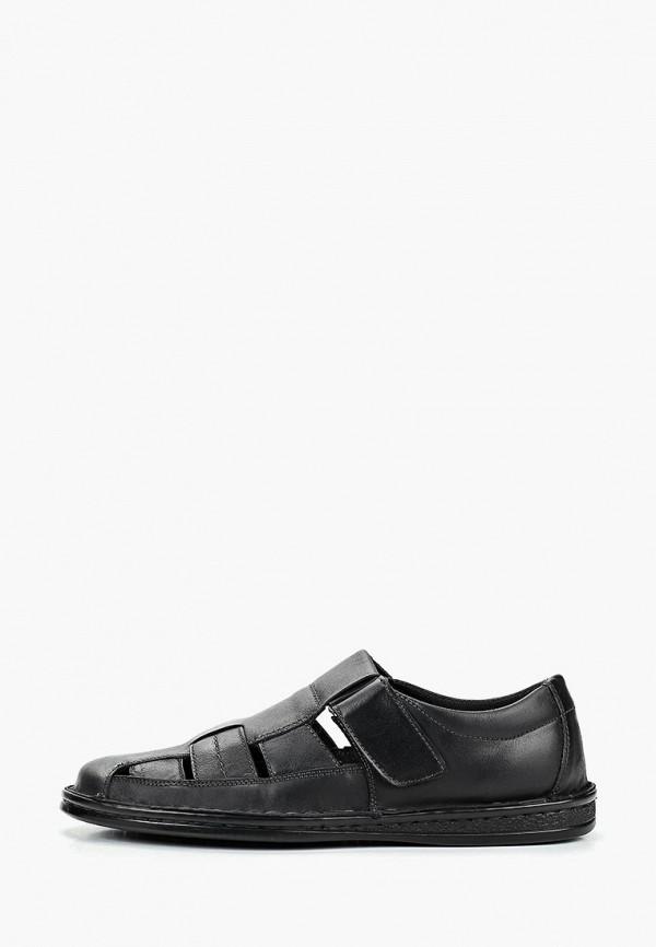 мужские сандалии quattrocomforto, черные