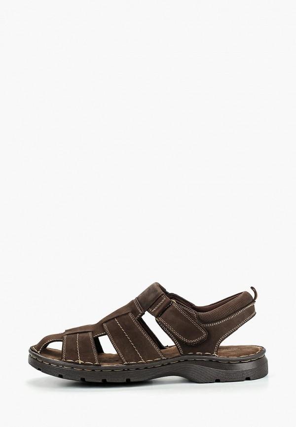 мужские сандалии quattrocomforto, коричневые