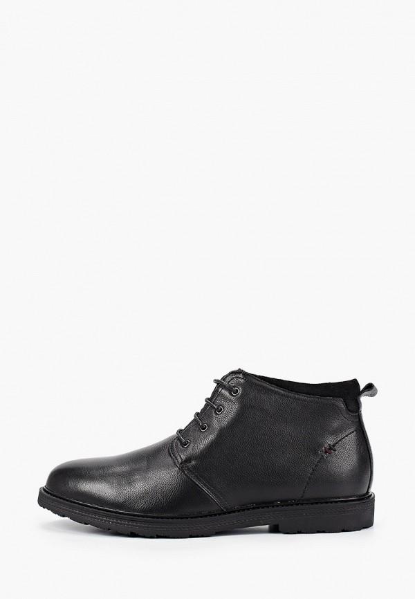 мужские ботинки quattrocomforto, черные