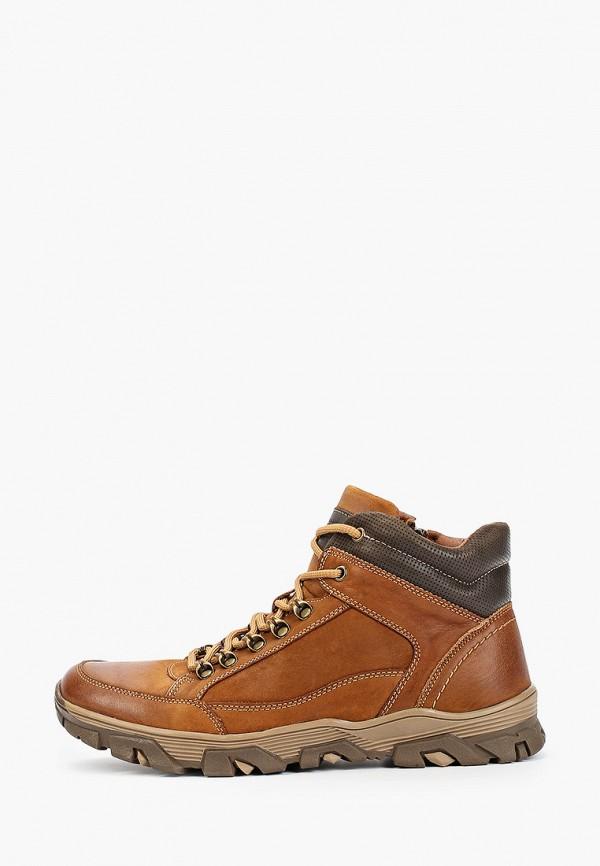 мужские высокие ботинки quattrocomforto, коричневые