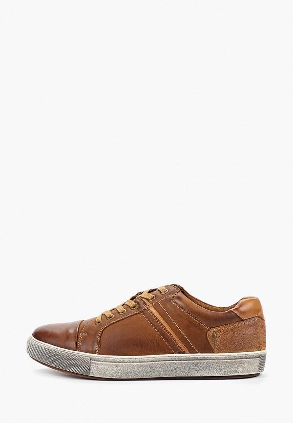 мужские кеды quattrocomforto, коричневые