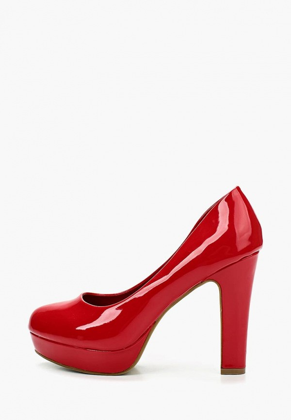 Фото 2 - женские туфли Queen Vivi красного цвета