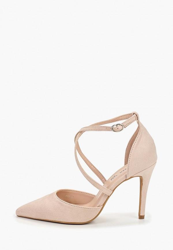 женские туфли queen vivi, бежевые
