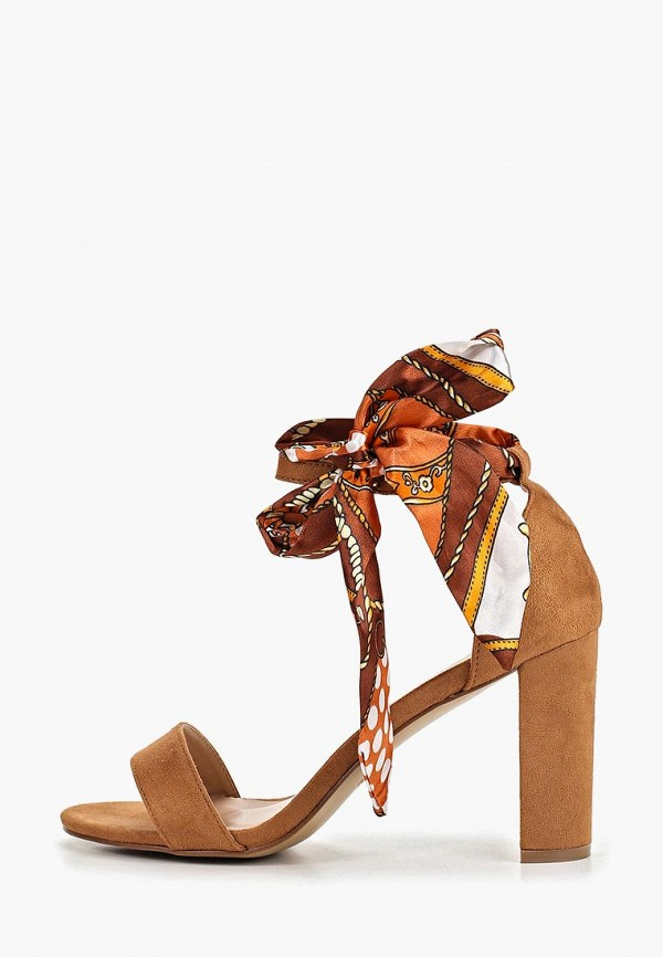 женские босоножки queen vivi, коричневые