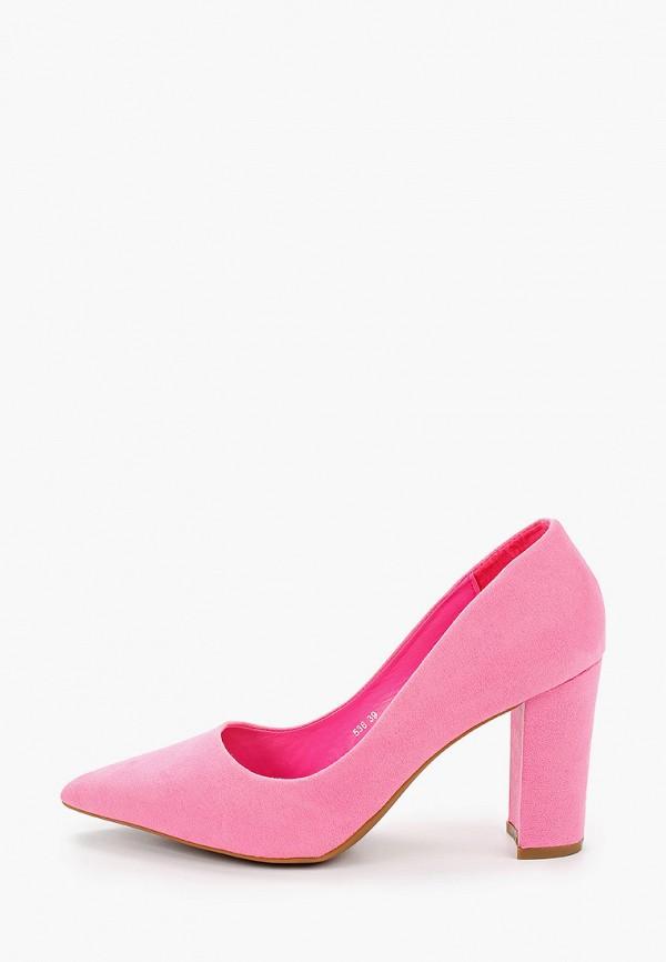 женские туфли queen vivi, розовые