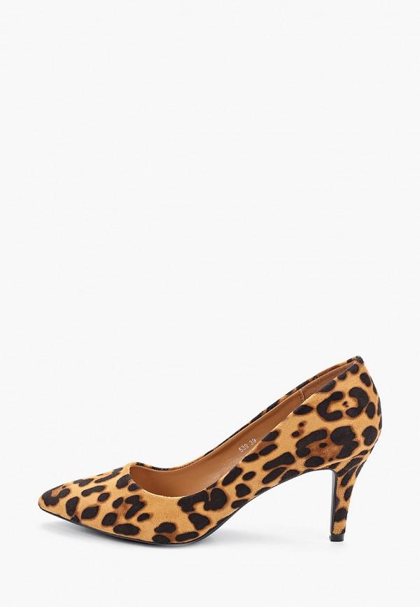 женские туфли queen vivi, коричневые