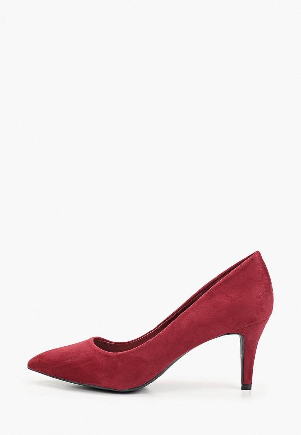 женские туфли queen vivi, бордовые