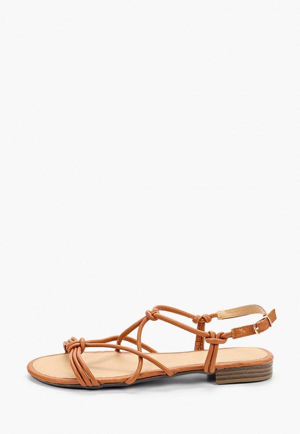женские сандалии queen vivi, коричневые