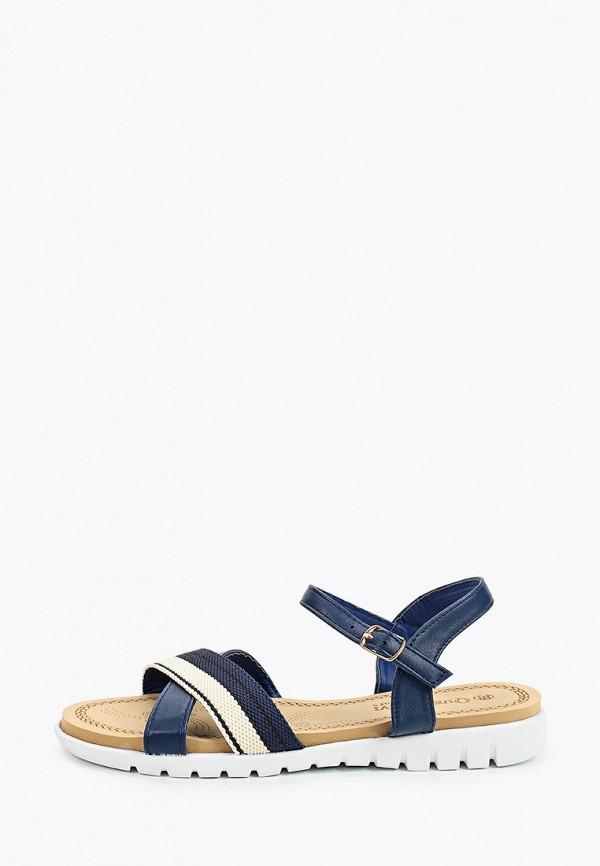 женские сандалии queen vivi, синие