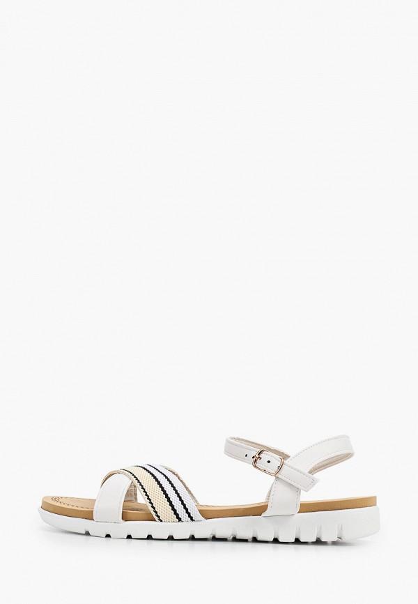 женские сандалии queen vivi, белые