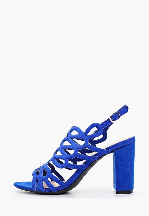 женские босоножки queen vivi, синие