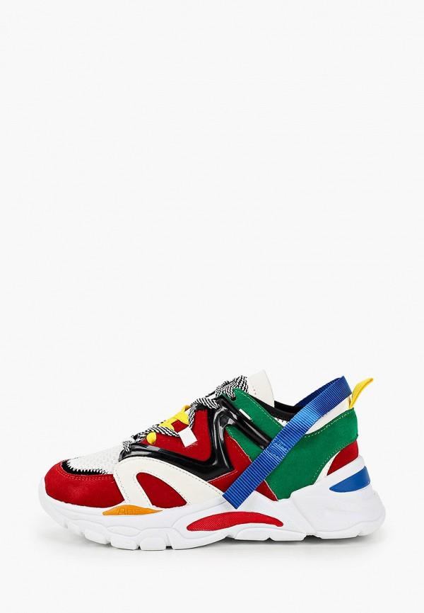 женские кроссовки queen vivi, разноцветные