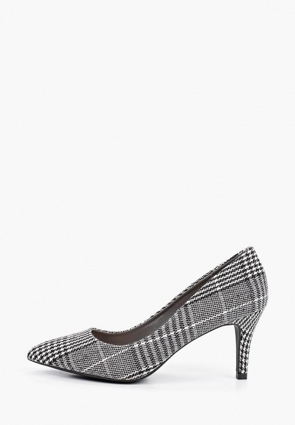 женские туфли queen vivi, серые