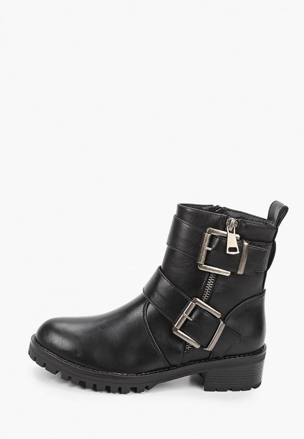 женские ботинки queen vivi, черные