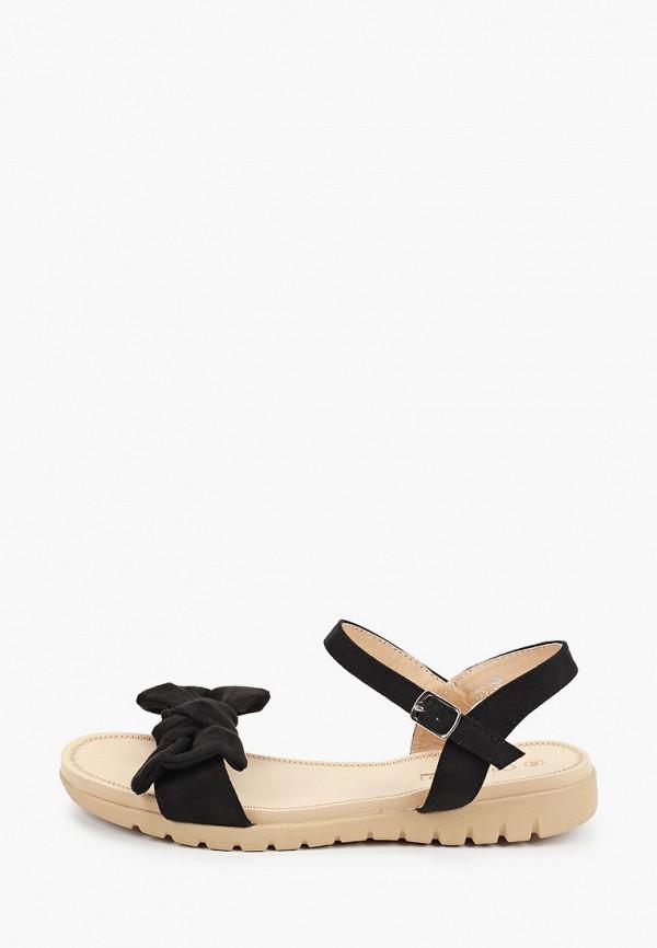 женские сандалии queen vivi, черные