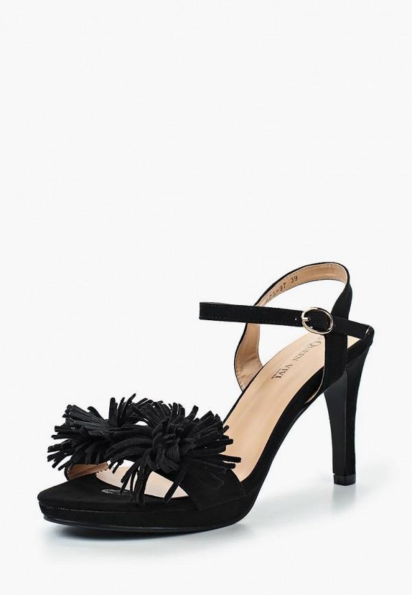Купить Босоножки Queen Vivi, qu004awtow26, черный, Весна-лето 2017