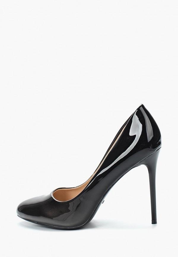 Фото 2 - женские туфли Queen Vivi черного цвета