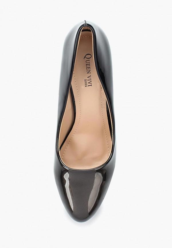Фото 4 - женские туфли Queen Vivi черного цвета