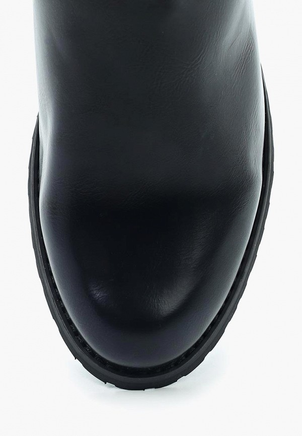 Фото 4 - женские сапоги Queen Vivi черного цвета