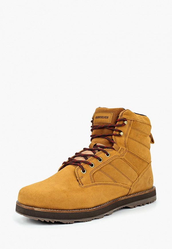 мужские ботинки quiksilver, коричневые