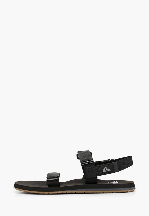 мужские сандалии quiksilver, черные