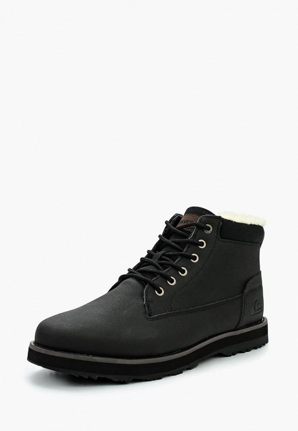мужские ботинки quiksilver, черные