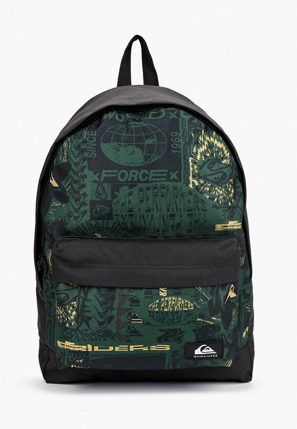 рюкзак quiksilver для мальчика, зеленый