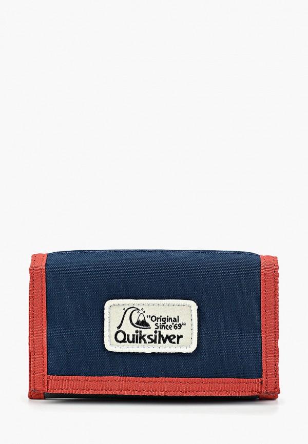 мужской кошелёк quiksilver, разноцветный