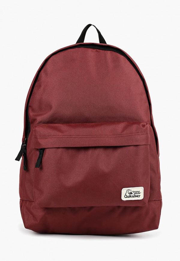 мужской рюкзак quiksilver, бордовый
