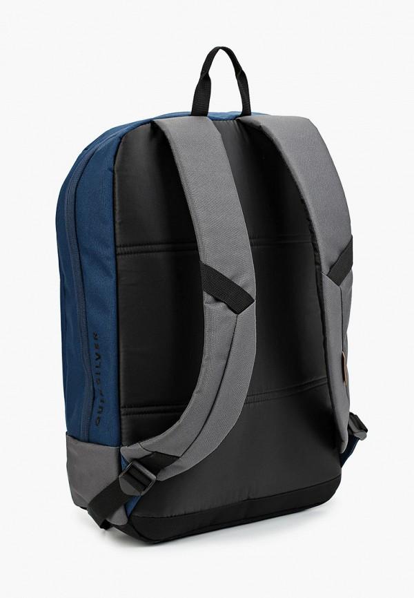 Фото 2 - мужской рюкзак Quiksilver синего цвета