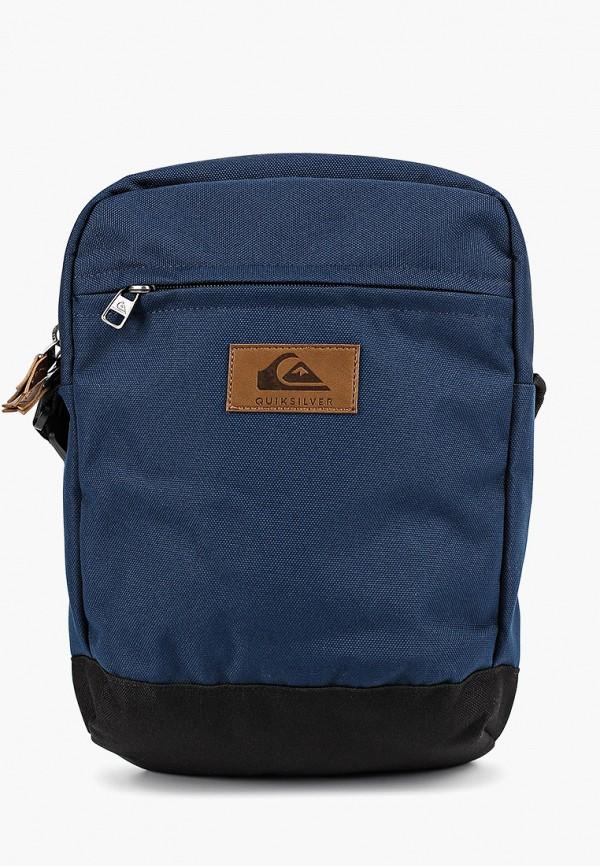 мужская сумка quiksilver, синяя