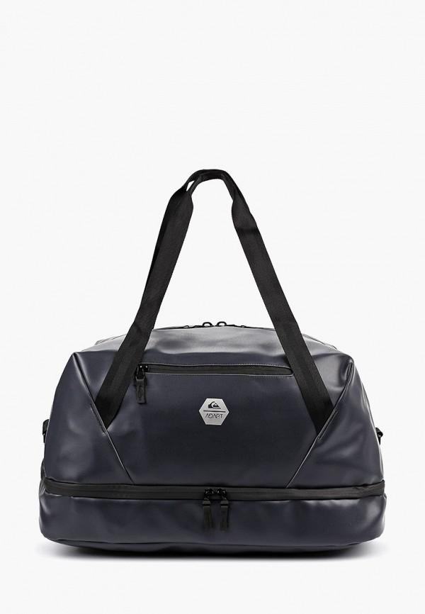мужская дорожные сумка quiksilver, черная