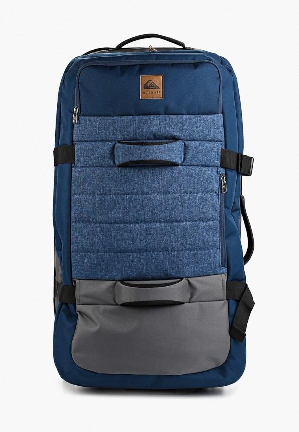мужской чемодан quiksilver, синий