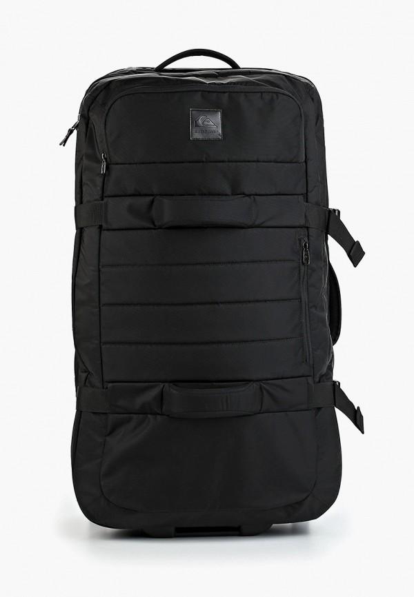 мужской чемодан quiksilver, черный