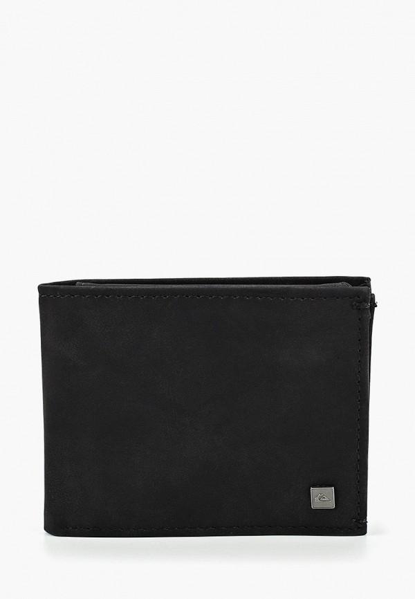 Фото - мужской кошелек или портмоне Quiksilver черного цвета