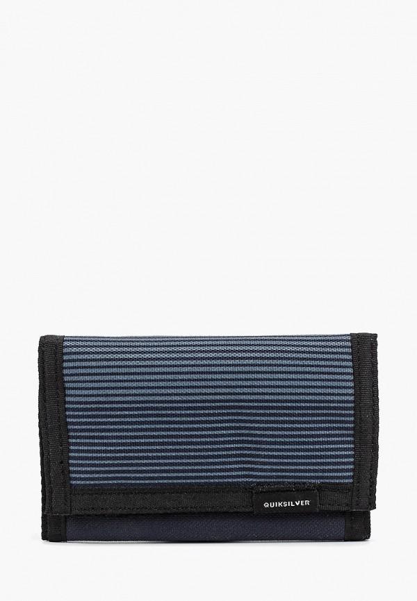 Фото - мужской кошелек или портмоне Quiksilver синего цвета