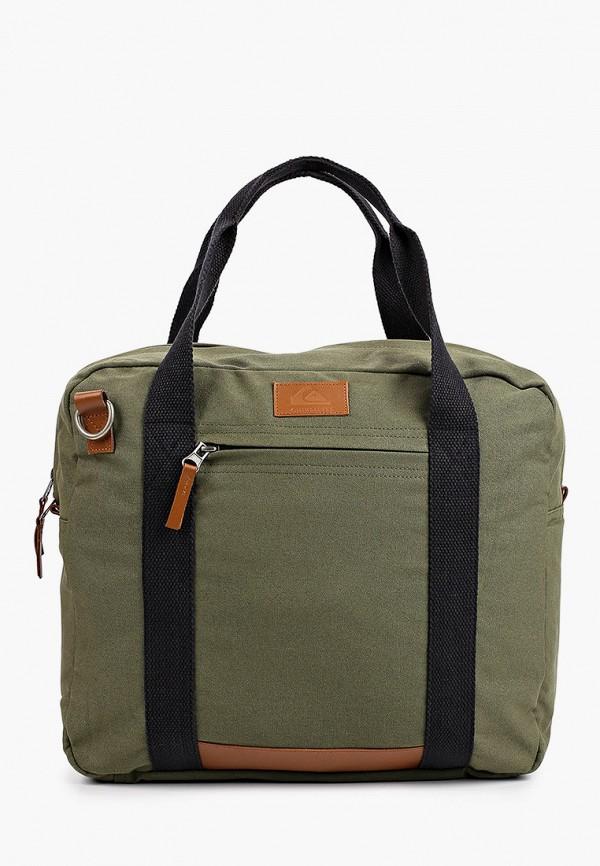 мужская спортивные сумка quiksilver, хаки