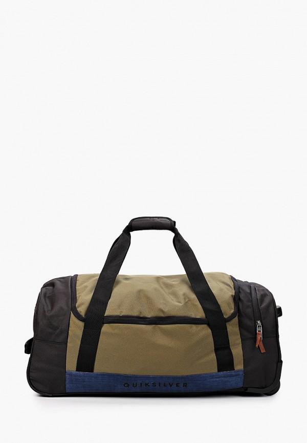 мужской чемодан quiksilver, хаки